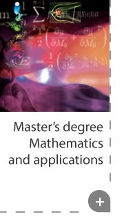 Master' degree Mathematics and applications