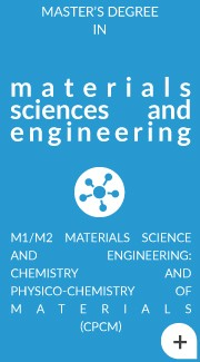 M2 Materials Science and Engineering: Chemistry and Physico-Chemistry of Materials
