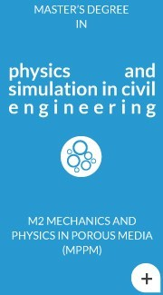 M2 Mechanics and Physics in Porous Media (MPPM)