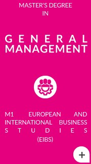 M2 Parcours General Management (english program)